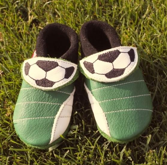 Hausschuhe Fußballer