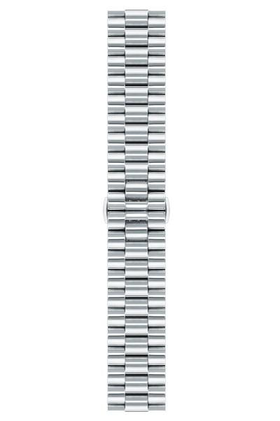 Steel strip, satin, polished, bracelet
