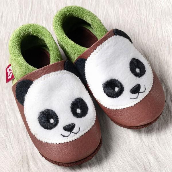 Hausschuhe Panda