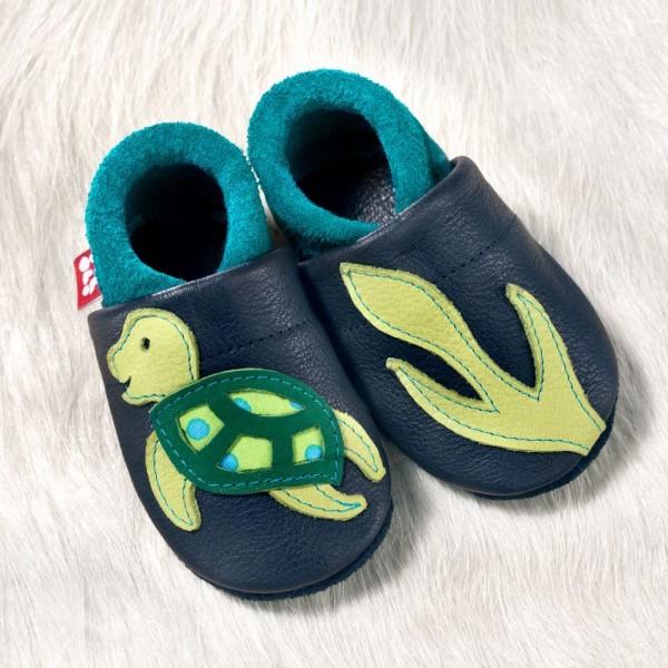 Hausschuhe Schildkröte
