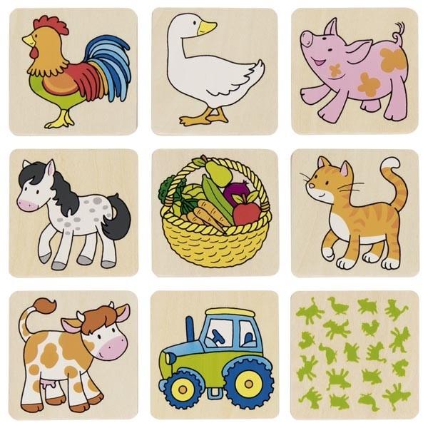 GOKI Farm Memo Puzzle